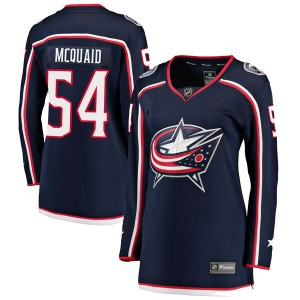 Adam McQuaid Columbus Blue Jackets Women's Fanatics Branded Navy Breakaway Home Jersey