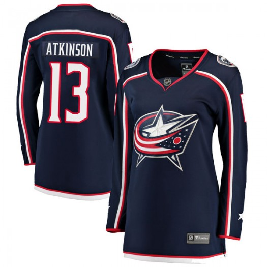 Cam Atkinson Columbus Blue Jackets Women's Fanatics Branded Navy Breakaway Home Jersey