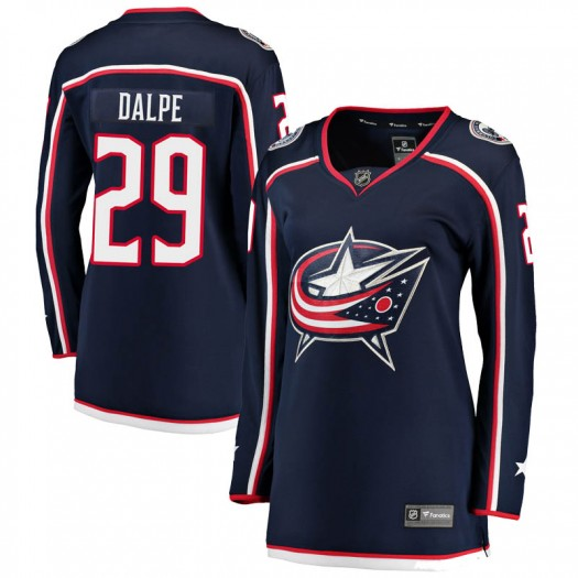 Zac Dalpe Columbus Blue Jackets Women's Fanatics Branded Navy Breakaway Home Jersey