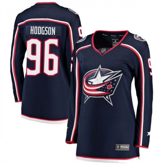 Hayden Hodgson Columbus Blue Jackets Women's Fanatics Branded Navy Breakaway Home Jersey