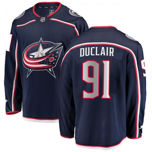 Anthony Duclair Columbus Blue Jackets Youth Fanatics Branded Navy Breakaway Home Jersey