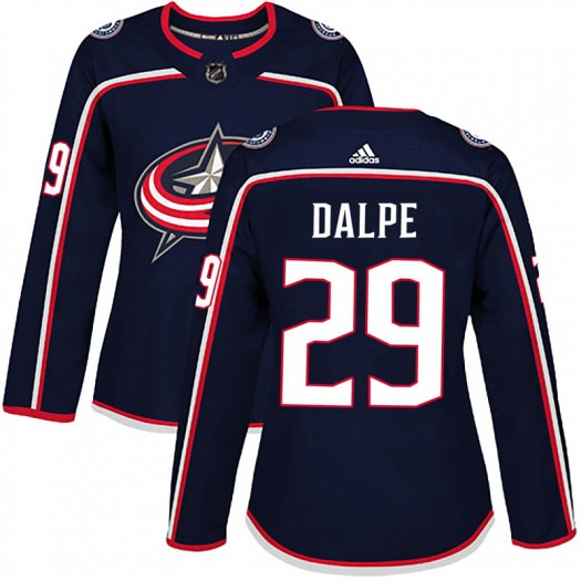Zac Dalpe Columbus Blue Jackets Women's Adidas Authentic Navy Home Jersey