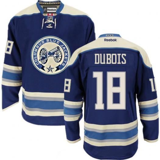 Pierre-Luc Dubois Columbus Blue Jackets Men's Reebok Authentic Navy Blue Third Jersey