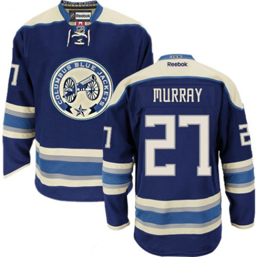Ryan Murray Columbus Blue Jackets Men's Reebok Premier Navy Blue Third Jersey