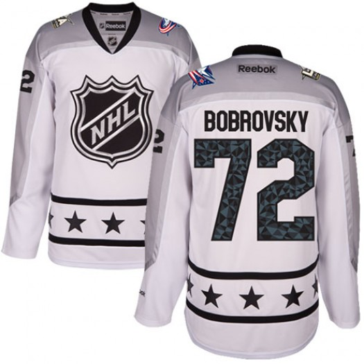 Sergei Bobrovsky Columbus Blue Jackets Youth Reebok Authentic White Metropolitan Division 2017 All-Star Jersey