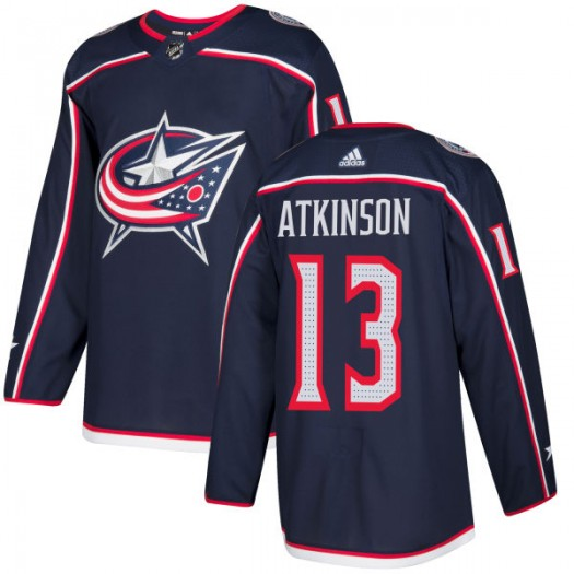 Cam Atkinson Columbus Blue Jackets Men's Adidas Authentic Navy Jersey