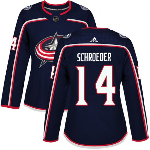 Dalton Prout Columbus Blue Jackets Youth Adidas Authentic Navy Blue Home Jersey