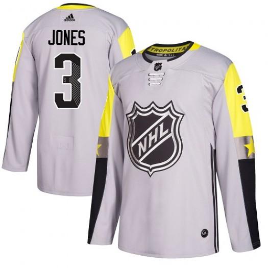 Seth Jones Columbus Blue Jackets Men's Adidas Authentic Gray 2018 All-Star Metro Division Jersey