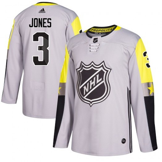 Seth Jones Columbus Blue Jackets Youth Adidas Authentic Gray 2018 All-Star Metro Division Jersey