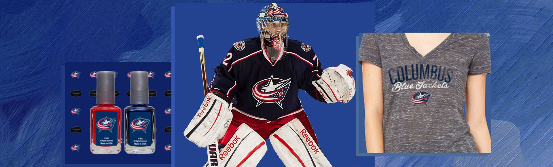 Licensed Columbus Blue Jackets Jerseys, T-shirts and Hoodies ...
